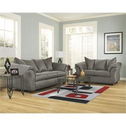 Darcy Cobblestone Sofa and Loveseat 75005-35-38 Image