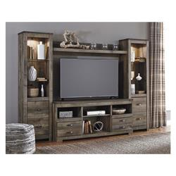Trinell Brown Wall Unit W446-24(2)-27-68 Image