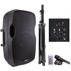 Gemini All in One 2000w PA System GMAS15BLUTPK Image
