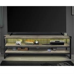 "Marlow 73"" Bay Oak Tv Stand TFWBO0573 Image"