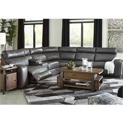 Samperstone Gray Power Sectional 55203-19(2)-58-62-77 Image